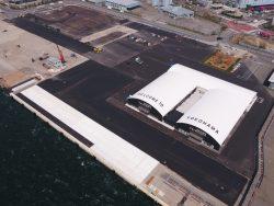 横浜港大黒地区岸壁(-12m)(改良)築造工事